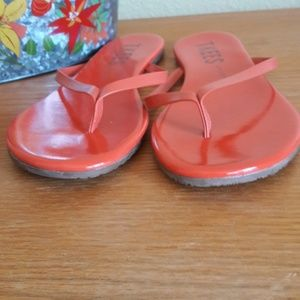 fcee55ac55e4 TKEES Shoes - TKEES (lipglosses) flip flops size 7 NWT